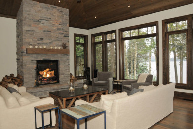 Muskoka Cottage Interior Renovation
